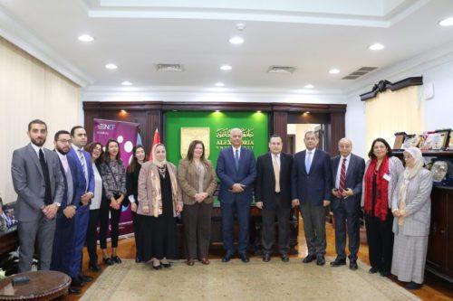 """صورة ايتيدا"""" توقع اتفاقية مع جامعة الاسكندرية لتفعيل """"إطار المهارات الوطني"""" لتكنولوجيا المعلومات والاتصالات"""