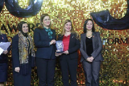 """صورة في إطار فعاليات """"قمة الأفضل"""" .. فودافون مصر تُكَرم ضمن أفضل 100 شركة فى مصر"""