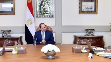 صورة في اجتماع السيسي مع وزير الاتصالات : إنشاء أول جامعة معلوماتية متخصصة في مصر