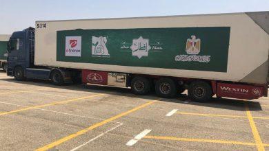 """صورة """"إي فاينانس"""" تتبرع بنصف مليون جنيه لتمويل أكبر قافلة مساعدات غذائية في مصر"""