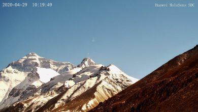 صورة شبكة جيل خامس على أعلى قمة في العالم.. شاينا موبايل وهواوي توفران تغطية الجيل الخامس على ارتفاع 6500 متر في قمة جبل إيفرست