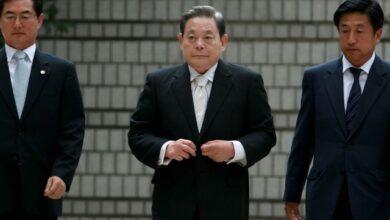 صورة كرونا بريئة .. قصة وفاة رئيس سامسونج وابن مؤسس الشركة