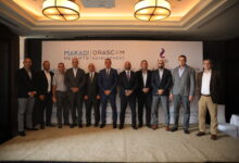 """صورة المصرية للاتصالات WE و""""مكادي هايتس"""" توقعان اتفاقية تعاون لتقديم خدمات الاتصالات المتكاملة بالمدينة"""