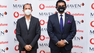 """صورة ڤودافون شريكا لـ """"MAVEN Developments """" للتحول الرقمي بمشروع """"باي ماونت"""" السخنة"""