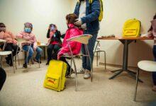 """صورة دي إتش إل """"توصل"""" السعادة للأطفال المصابين بالسرطان"""