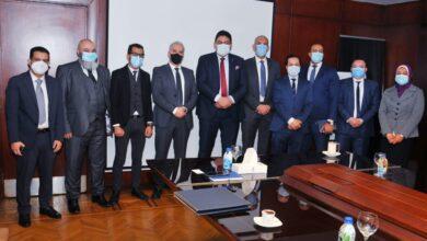 """صورة بالصور .. وفد من """"الاتصالات الليبية يبحث في القاهرة التعاون مع المصرية للاتصالات"""