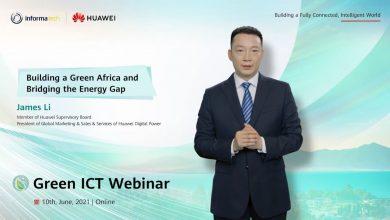 صورة لخفض الانبعاثات الكربونية..هواوي تشارك في استضافة ندوة Green ICT العالمية تحت عنوان «بناء إفريقيا خضراء.. وسد فجوة الطاقة»