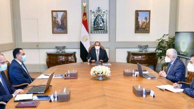 صورة الرئيس السيسي يوجه بتيسير امتحانات الثانوية العامة واتاحتها ورقيا والكترونيا