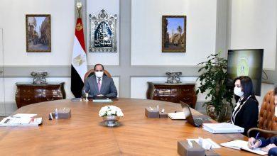 """صورة الرئيس السيسي  يوجه بتحمل مصر سداد  حصة المساهمات السنوية للدول الأقل نمواً في """"منظمة تنمية المرأة"""" وعددها 22 دولة"""