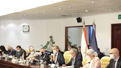 صورة تعاون مصري ليبي في مجالات البنية التحتية  والتحول الرقمي والخدمات البريدية