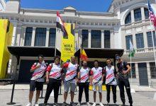 صورة الفريق المصرى يصعد للمربع الذهبى لكاس العالم فى لعبة ( فالورانت) فى باسبانيا