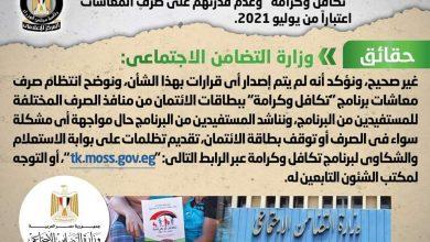 صورة مجلس الوزراء يكشف حقيقة وقف بطاقات الائتمان لمستفيدي تكافل  وكرامة