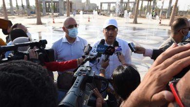 صورة مدبولي من العاصمة الإدارية: الرئيس السيسي سيعلن قريباً عن مصر الحديثه