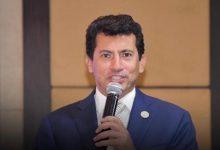 صورة انتخاب الدكتور أشرف صبحى رئيسا وشريف عبد الباقي أمينا عاماً  للاتحاد الافريقى للرياضات الالكترونية
