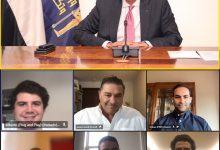 """صورة وزير الاتصالات يشهد توقيع اتفاقية لإقامة شراكة استراتيجية بين """"ايتيدا"""" وشركة """"بلاج أند بلاى"""" Plug and Play"""
