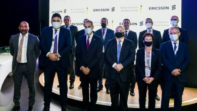 صورة خلال زيارة وزير الاتصالات لجناحها في جيتكس:  إريكسون تستعرض أحدث حلولها للجيل الخامس للأفراد والشركات